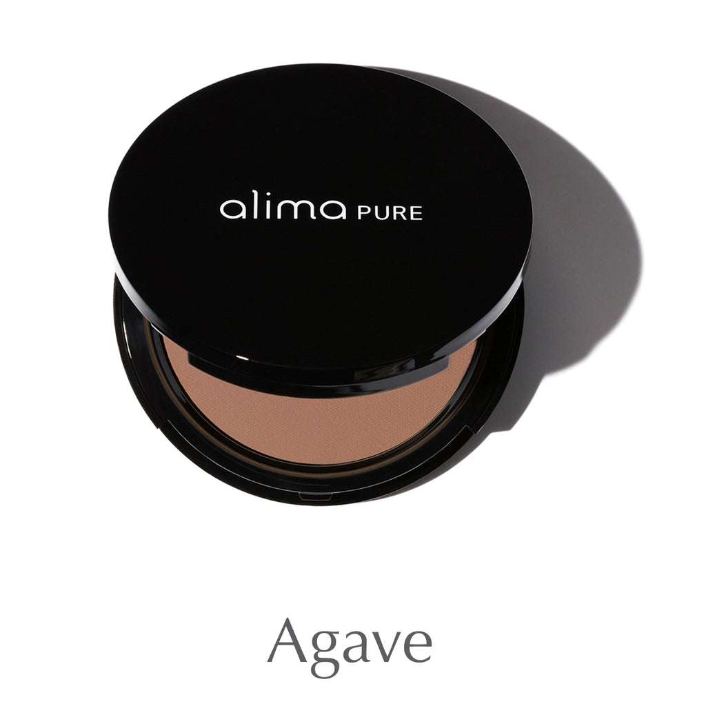 ALIMA PURE - Pressed Foundation with Rosehip Antioxidant Complex - Agave