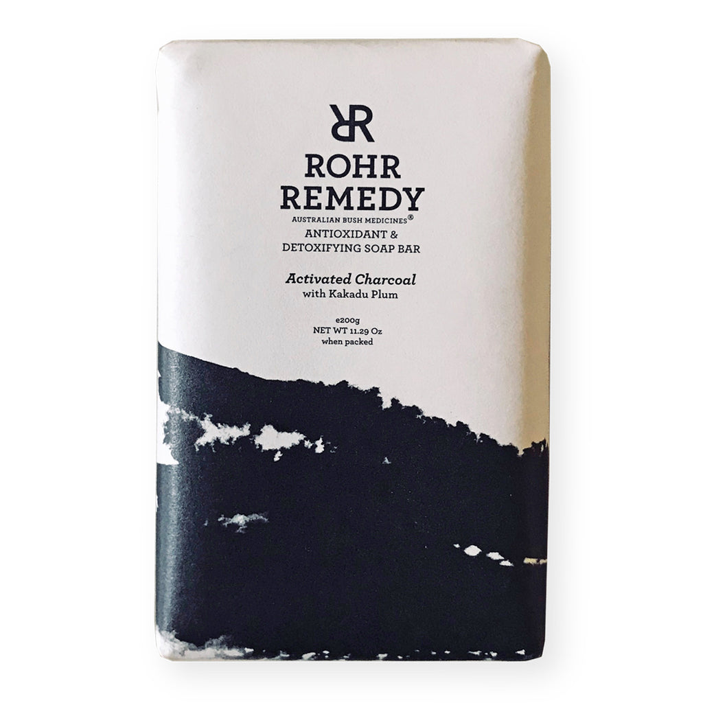 ROHR REMEDY - Activated Charcoal with Plum Soap