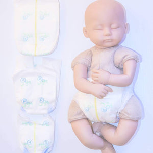 Bidibots Premmie Nappies SAMPLE - Large