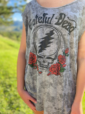 ⚡️ROCKER⚡️T Shirt 'Grateful🌹Dead'
