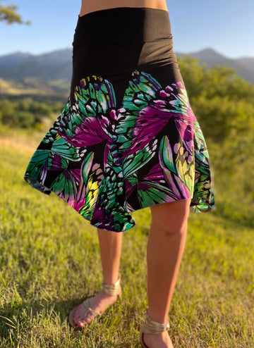 Bella 3/4 Skirt 'Butterfly'