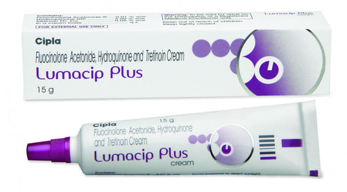 Lumacip plus cream 15g cream