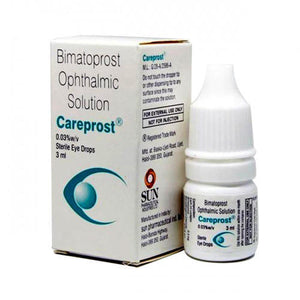 3-bottle Careprost only $36
