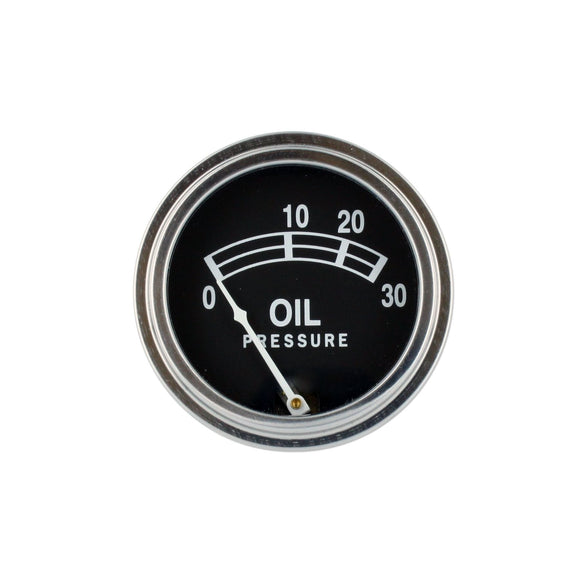 Universal Oil Pressure Gauge (0 - 30 PSI) - Bubs Tractor Parts