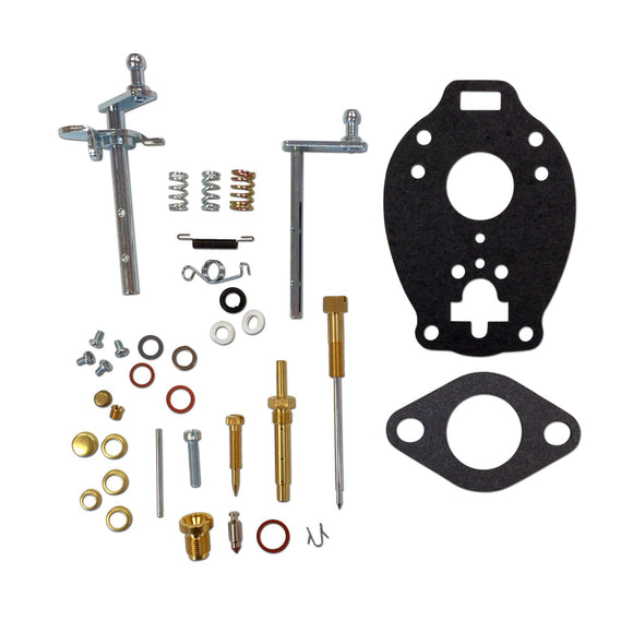 Complete Carburetor Repair Kit - Marvel Schebler - Bubs Tractor Parts