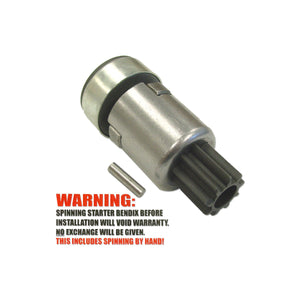 Ratchet Style Starter Drive (Bendix) - Bubs Tractor Parts