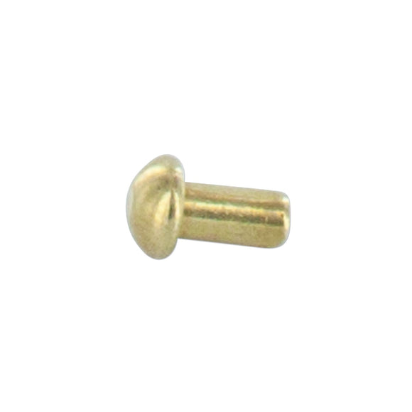 BRASS RIVET FOR SERIAL NUMBER TAGS