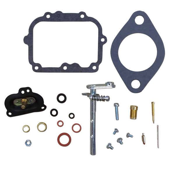 Basic Carburetor Repair Kit w/ Diaphragm (For Marvel Schebler aluminum carburetors)