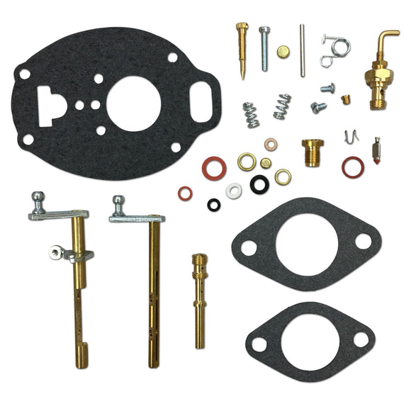 Complete Carburetor Repair Kit (Marvel Schebler) - Bubs Tractor Parts
