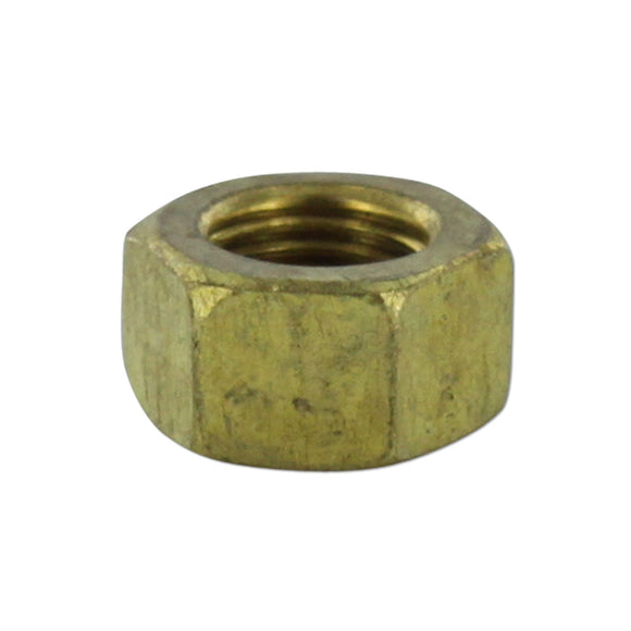 Brass Manifold Nut - Bubs Tractor Parts