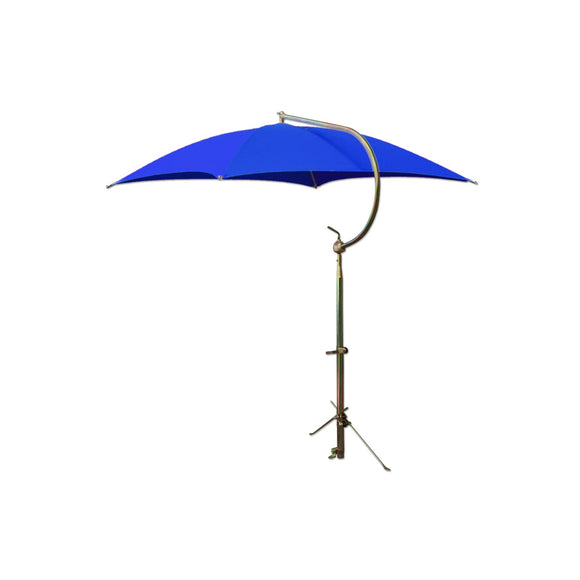 Deluxe Blue Umbrella with Brackets - Bubs Tractor Parts