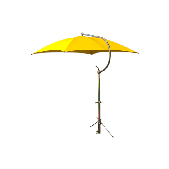 Yellow Deluxe Umbrella w/ Brackets