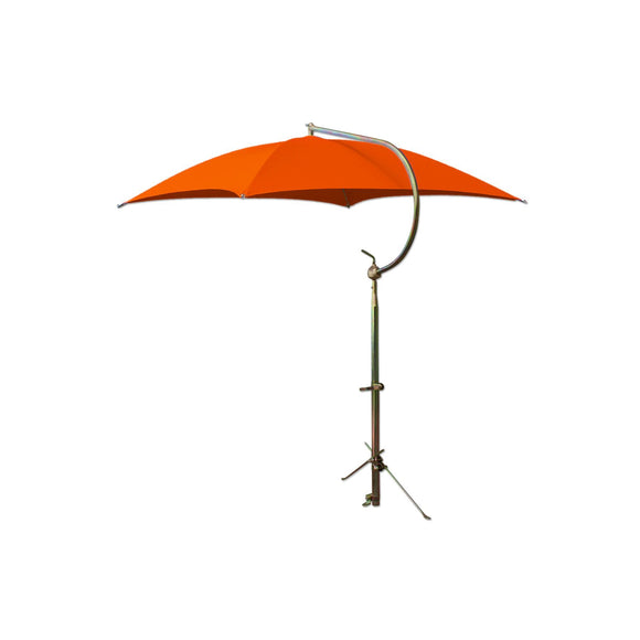 Deluxe Orange Umbrella with Brackets - Bubs Tractor Parts