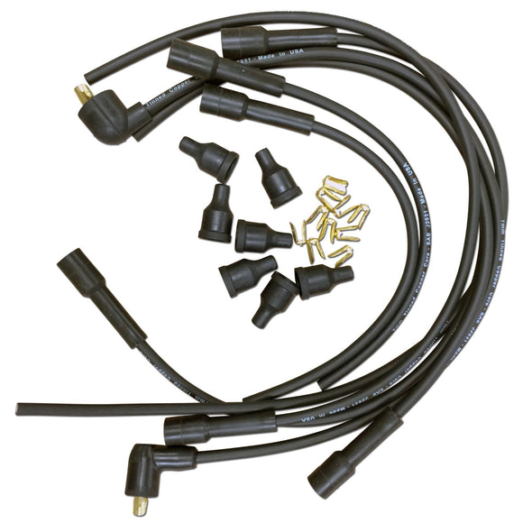 (6 cylinder) Spark Plug Wiring Set with Straight Boots - Bubs Tractor Parts