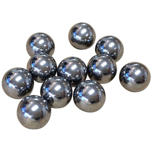 Chrome Steel Ball Kit (for steering worm shaft) - Bubs Tractor Parts