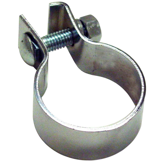 Chrome Muffler Clamp - Bubs Tractor Parts