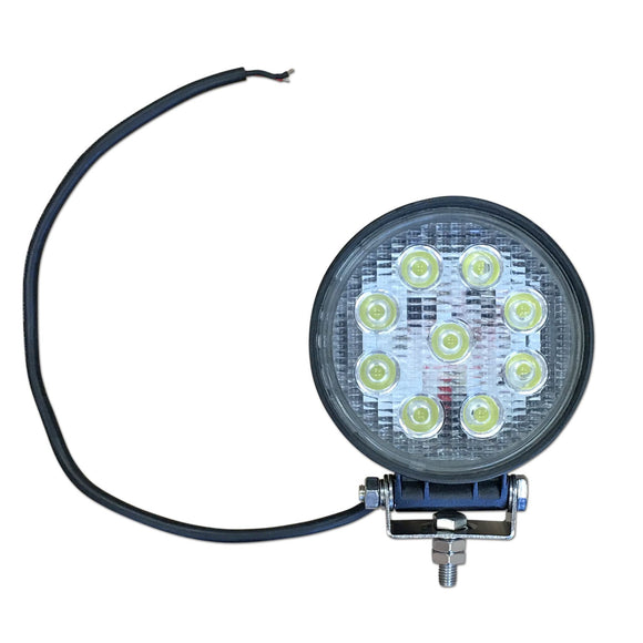 Universal 12-Volt LED Flood Light Assembly - Bubs Tractor Parts