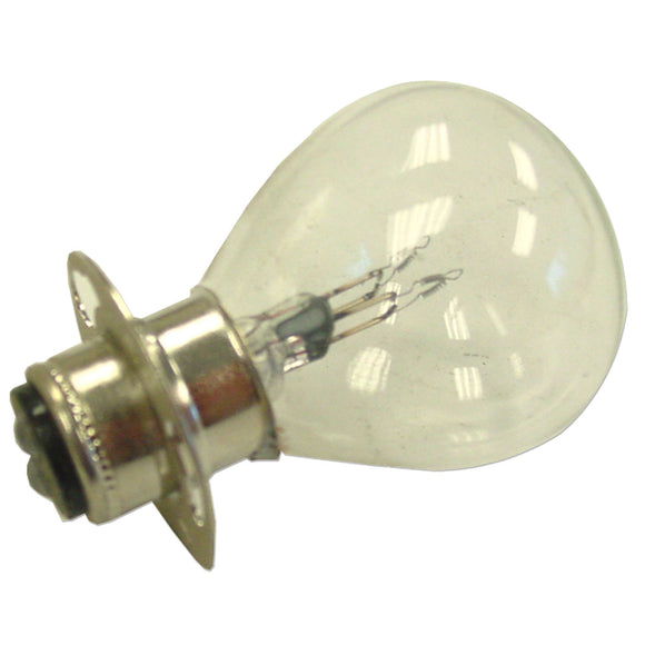 12-Volt double contact Light Bulb with ring - Bubs Tractor Parts