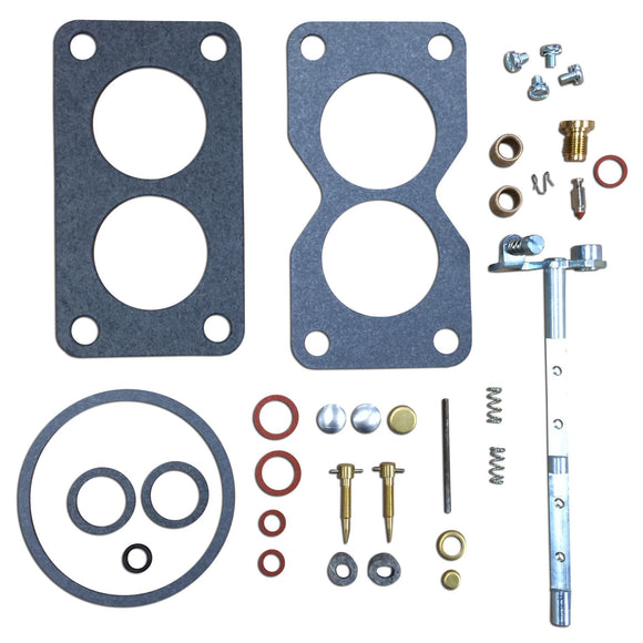 Basic Dual Induction Carburetor Repair Kit (Marvel Schebler) - Bubs Tractor Parts