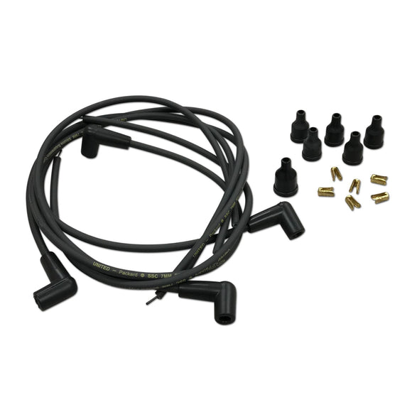 Spark Plug Wiring Set with 90 degree Boots, 4-cyl. - Bubs Tractor Parts