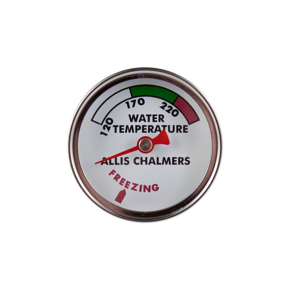 Water Temperature Gauge w/ Chrome Bezel