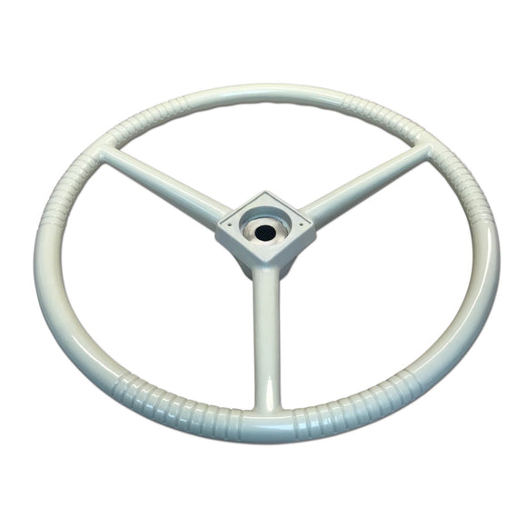 Creme Steering Wheel - Bubs Tractor Parts