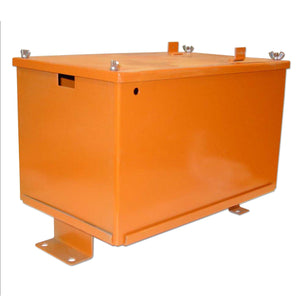 Battery Box With Lid - Bubs Tractor Parts