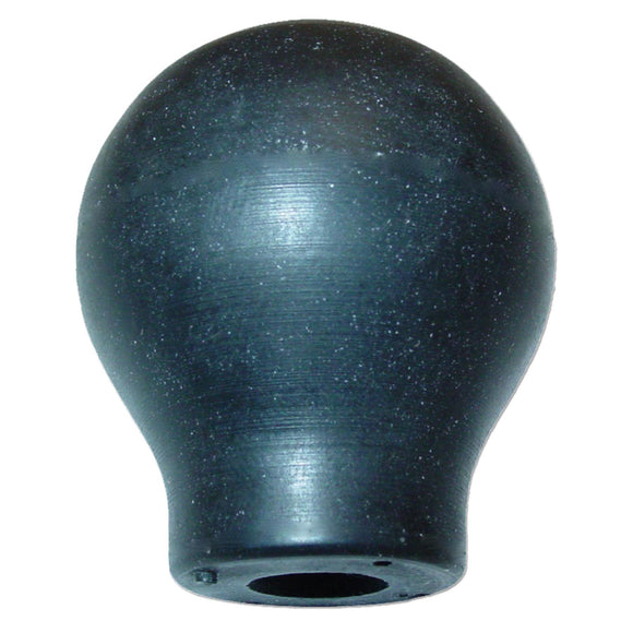 Knob (rubber) -- fits many AC models, including B, C, CA, WD and more - Bubs Tractor Parts