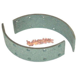 Brake Shoe Lining Set For 1 Wheel - Bubs Tractor Parts