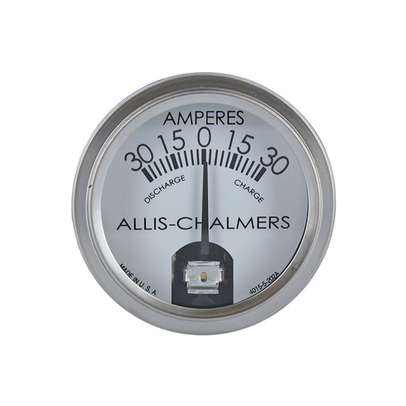 Allis Chalmers Ammeter -- Fits Many AC Models - Bubs Tractor Parts