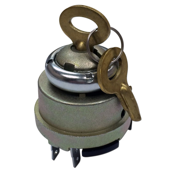 Ignition Switch, Key Switch -- Used On Many Different Tractor Brands - Bubs Tractor Parts