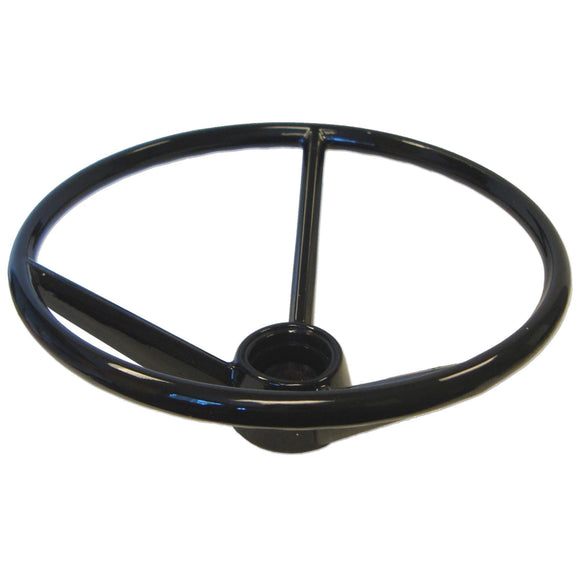 Deep Dish Steering Wheel With Covered Spokes - Bubs Tractor Parts