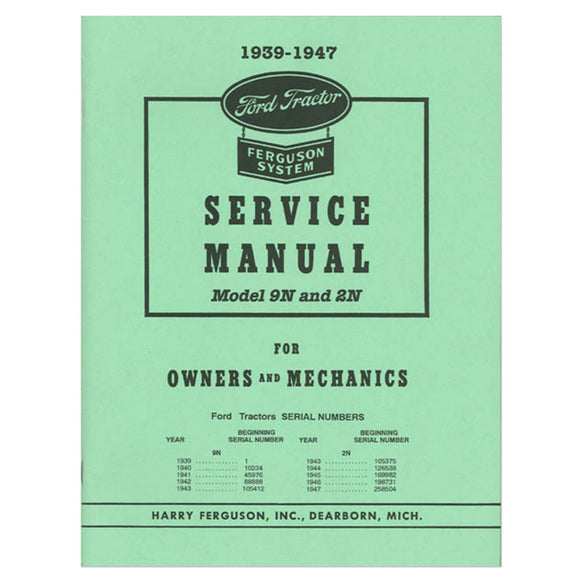 Service Manual Reprin - Bubs Tractor Parts