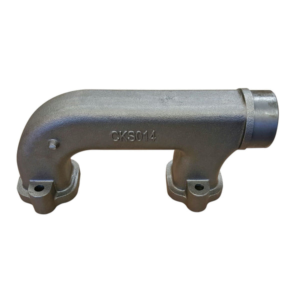 Manifold --- Exhaust End Section - Bubs Tractor Parts