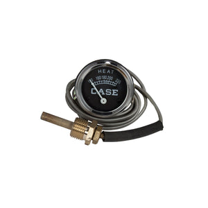 "Water temperature gauge with Case name and 60"" lead - Bubs Tractor Parts"