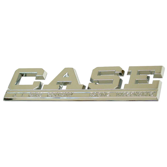 Side Emblem with retaining clips - Bubs Tractor Parts