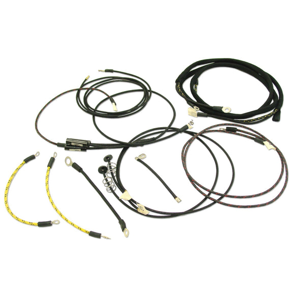 Restoration Quality Wiring Harness For Tractors Using 2 Wire Cut-Out Relay - Bubs Tractor Parts