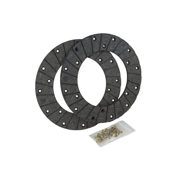 Disc Brake Linings With Rivets - Bubs Tractor Parts