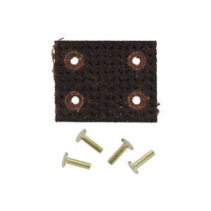 BELT PULLEY BRAKE LINING WITH 4 RIVETS - Bubs Tractor Parts