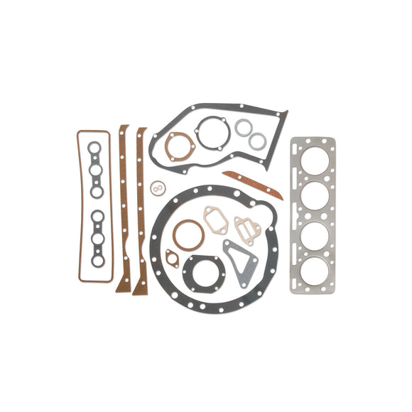 Full Engine Gasket Set (Includes front crankshaft seal) - Bubs Tractor Parts