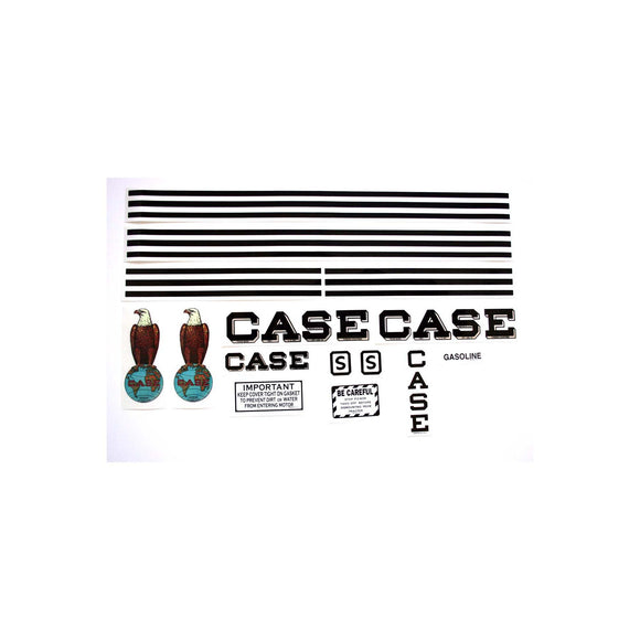 Case S: Mylar Decal Set - Bubs Tractor Parts