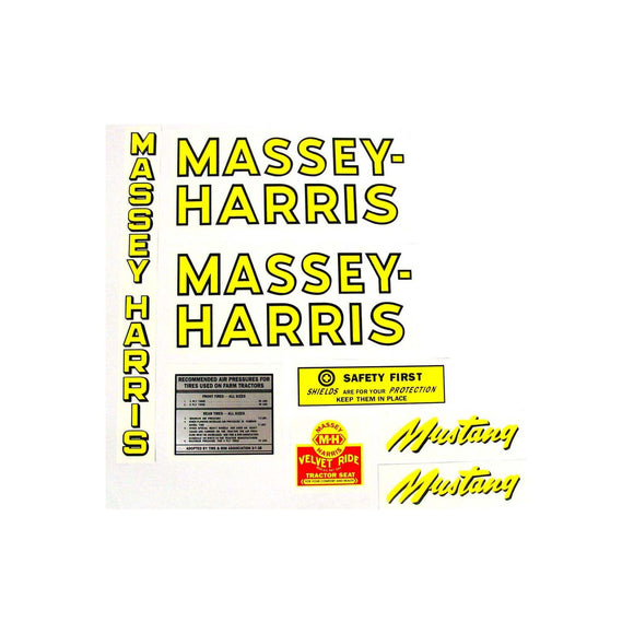 MH Mustang: Mylar Decal Set
