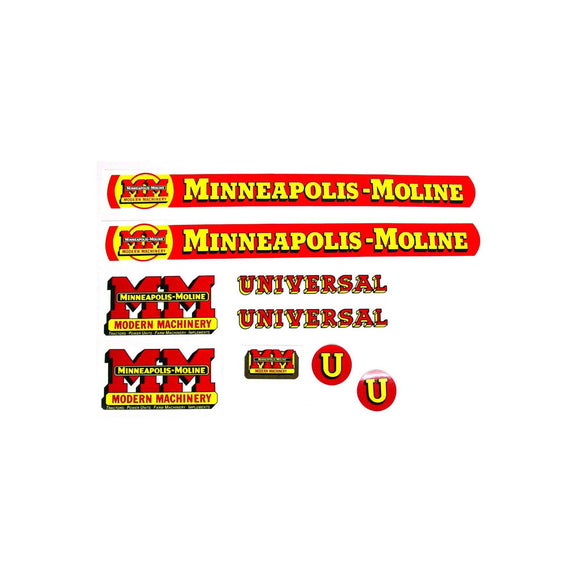 MM U: Mylar Decal Set - Bubs Tractor Parts