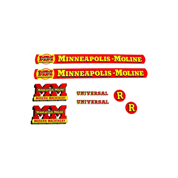 MM R: Mylar Decal Set - Bubs Tractor Parts