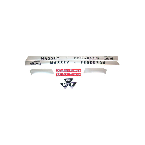 MF 135: Mylar Decal Hood Set Only