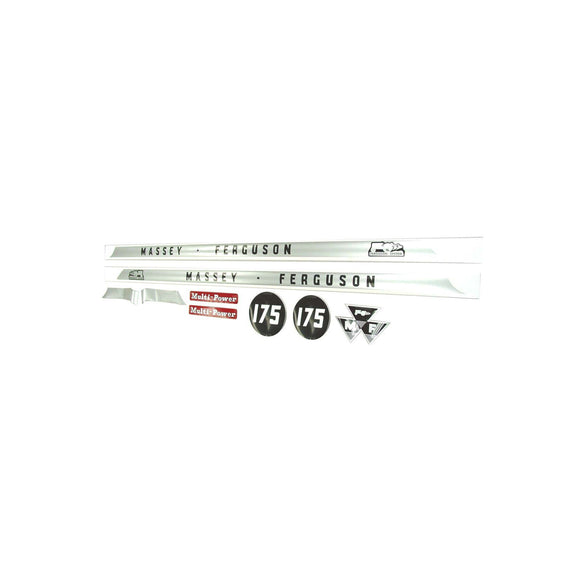 MF 175: Mylar Decal Hood Set Only
