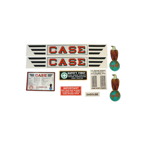 Case RC: Mylar Decal Set - Bubs Tractor Parts