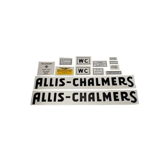 AC WC 1941-48: Mylar Decal Set - Bubs Tractor Parts