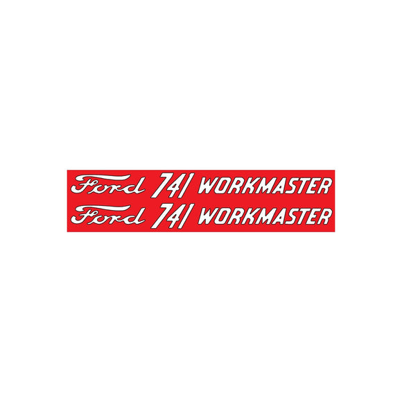 Ford 741 Workmaster: Mylar Decal - Bubs Tractor Parts