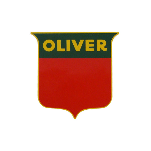 Oliver Shield Decal, 3